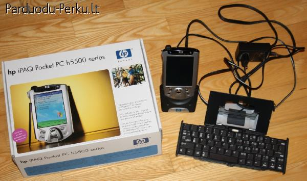 Delninukas HP iPAQ h5500 Pocket PC series