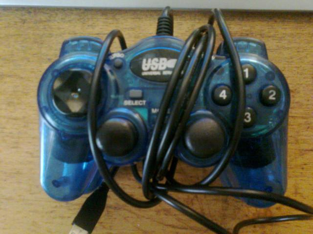 Twin usb joysticks