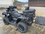 2018 Can-Am Outlander MAX XT-p 1000 z kaskiem