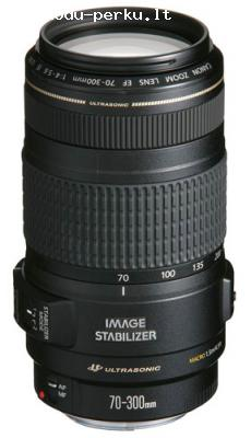 Canon EF 70-300mm f/4-5.6 IS USM objektivas