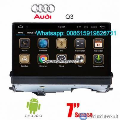 Audi A3 Automobilio Garso Radijo Atnaujinti Android Gps Navigacijos Parduoduperku