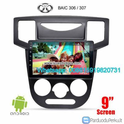 BAIC 306 307 Car audio radio update android GPS navigation camera