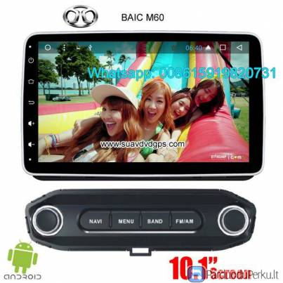 BAIC M60 Car audio radio update android GPS navigation camera