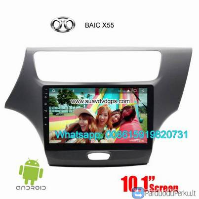 BAIC X55 Car audio radio update android GPS navigation camera