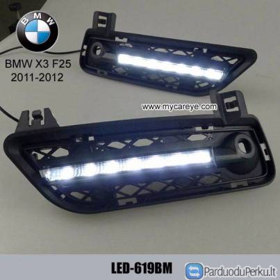 BMW X3 F25 DRL LED Daytime Running Lights kits carbody parts retrofit
