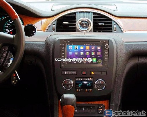 Buick Enclave Android Car DVD Player Radio multimedia WIFI 3