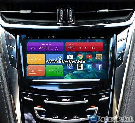 Cadillac CTS Android 3G Wifi OBD TPMS car radio PC