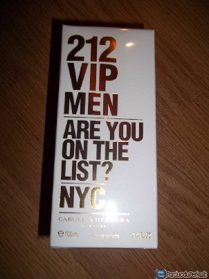 CAROLINA HERRERA 212 VIP MEN100ml kvepalai vyrams