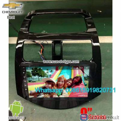 Chevrolet Beat Car audio radio aftermarket android GPS navigation camera