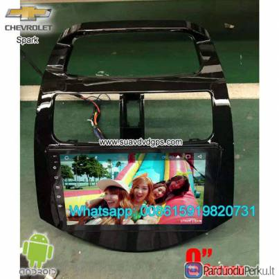Chevrolet Spark 2013-2016 Car audio radio android GPS navigation camera