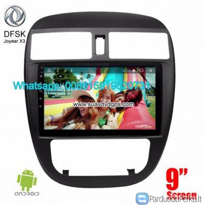 DFSK Joyear X3 Car stereo audio radio android GPS navigation camera