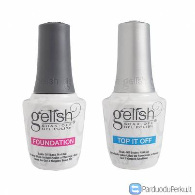Harmony Gelish topas ir bazė Top It Off Foundation