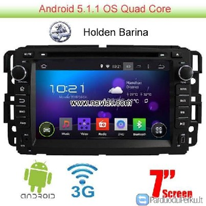 Holden Barina Android 5.1 Car Radio WIFI 3G DVD TV