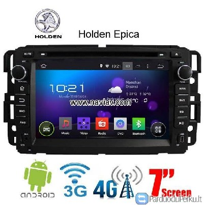 Holden Epica Android 4.4 Car Radio WIFI 3G DVD GPS