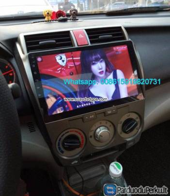 Honda City 08-14 Auto radio update Car android wifi dash GPS camera