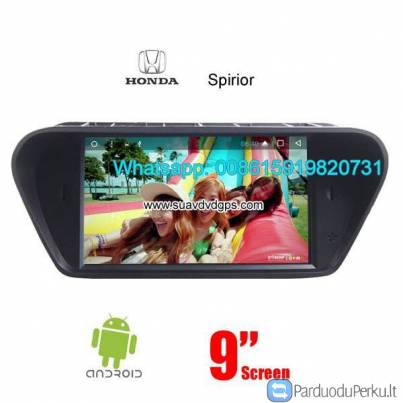 Honda Spirior Car audio radio android GPS navigation camera