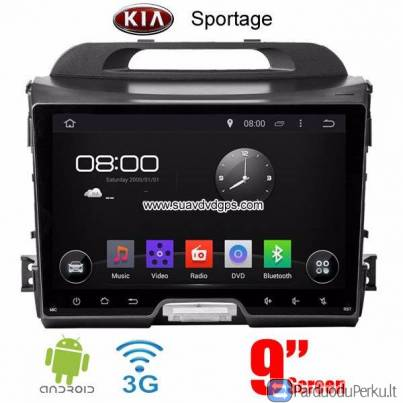 Kia Sportage multimedia car radio video android wifi gps navigation 3G DAB+