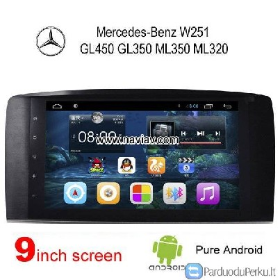 Mercedes Benz W251 GL450 GL350 ML350 Android GPS