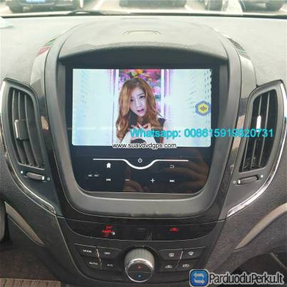 MG 5 Car stereo audio radio android GPS navigation camera