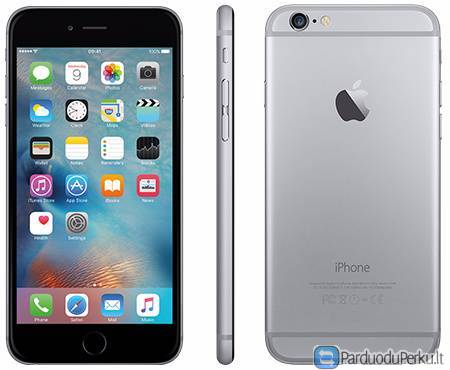 Naudotas Apple iPhone 6 Plus 128gb