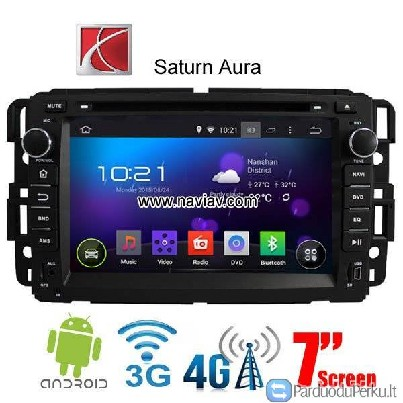Saturn Aura Android 4.4 Car radio WIFI 3G DVD GPS