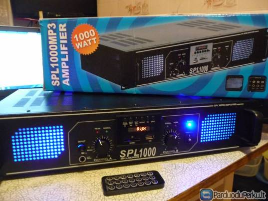 SPL 1000 AMPLIFIER